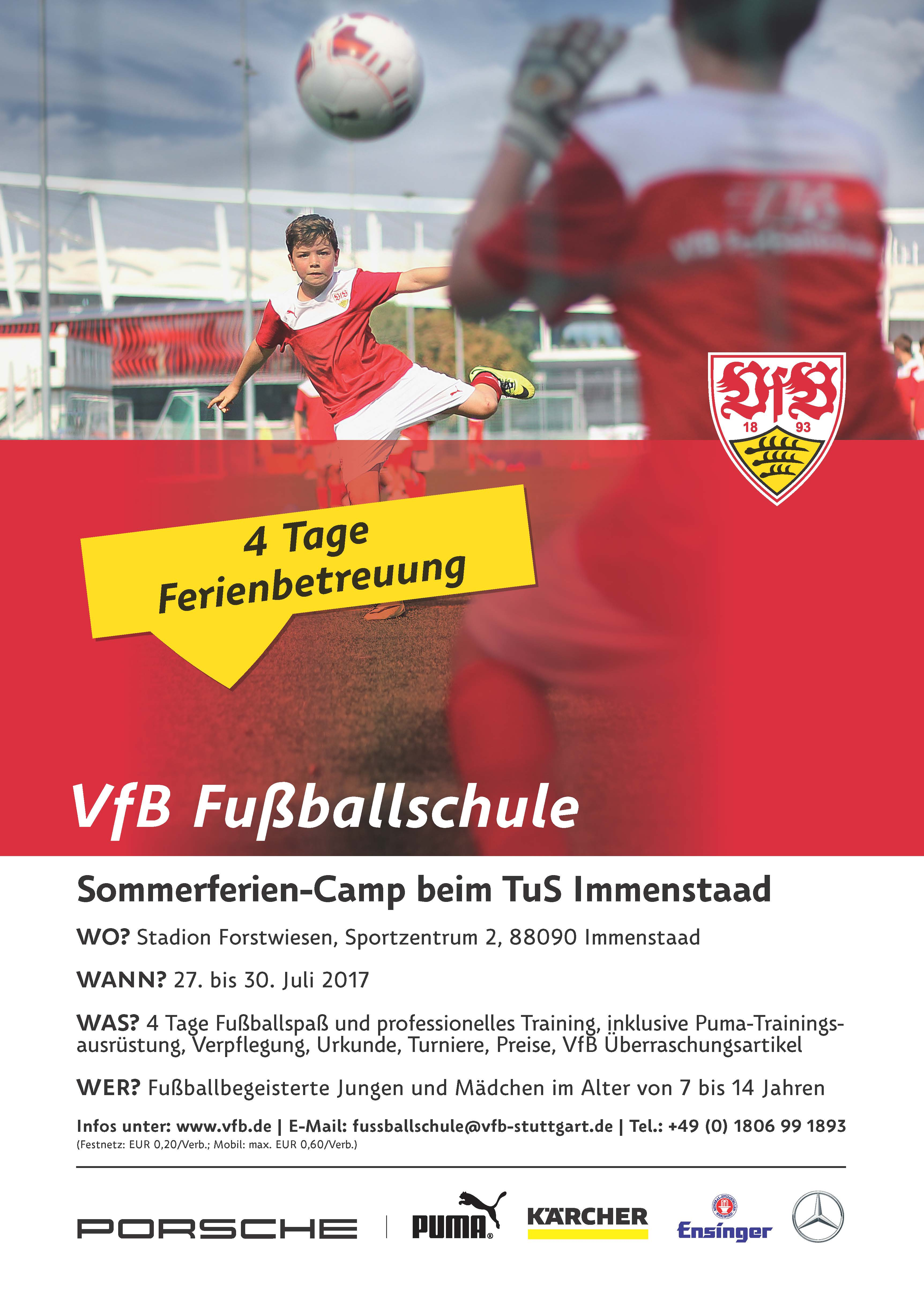 16 MV B2C FS SommerferienCamp Immenstaad Poster A3 online